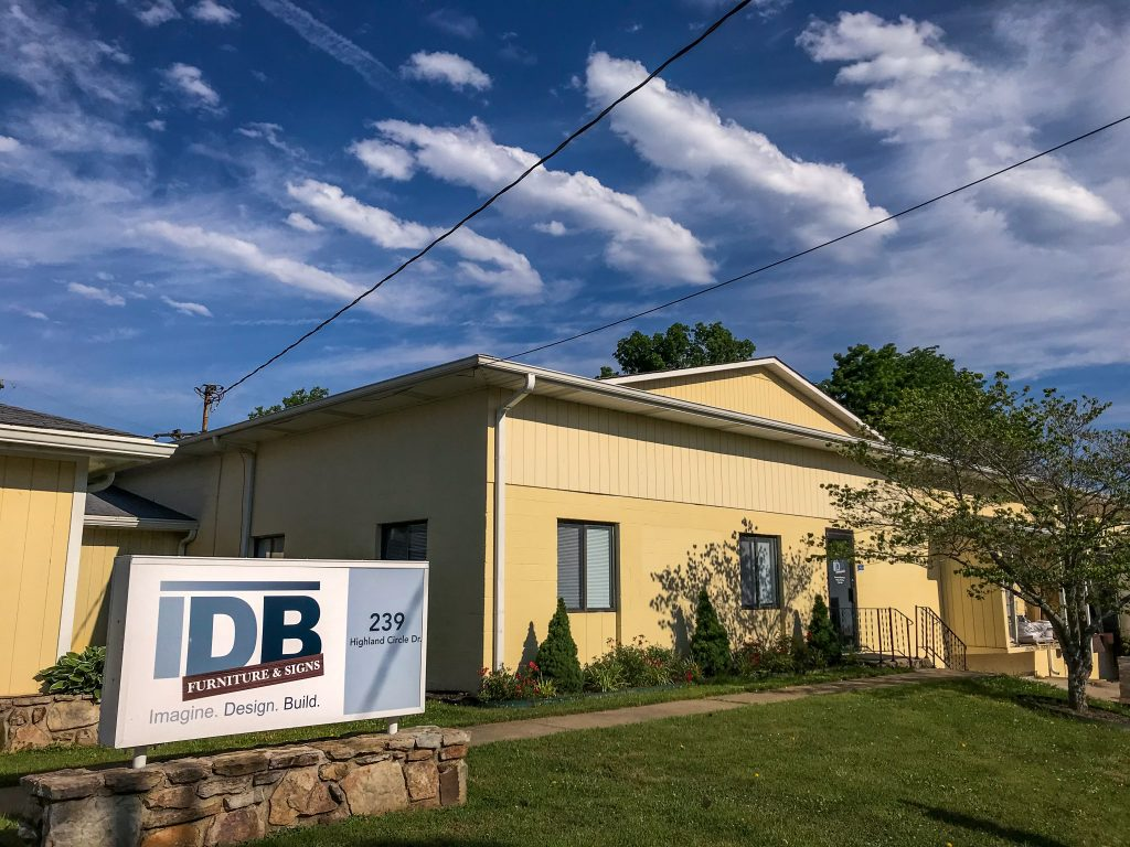 IDB Furniture & Signs Building